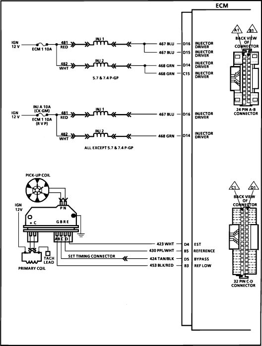 wiring diagram for 1998 chevy silverado - Google Search 98 Chevy