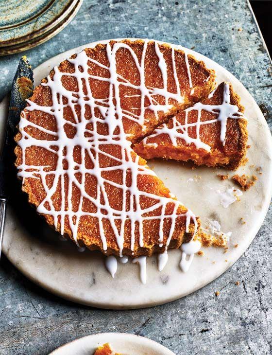 Lemon treacle tart