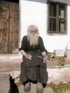 98 year old Dobri Dobrev, who every day walks 10 kilometers from his village to the city of Sofia, where he spends the day begging for money. It was only recently discovered that he has donated every penny he has collected (over 40,000 euros) towards the restoration of decaying Bulgarian monasteries and the utility bills of orphanages, living instead off his monthly state pension of 80 euros!