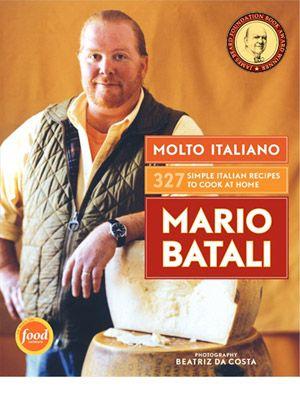 Mario Batali (Italian) | Pinterest | Mario Batali, Mario and Chefs