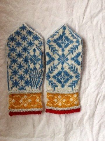 Selbu mittens by Lappesola on Etsy