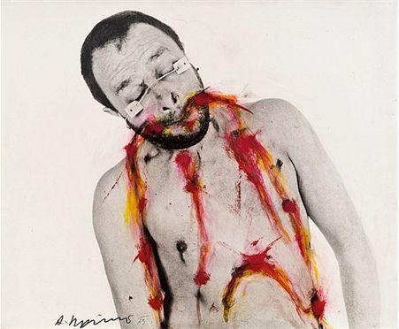 Sem título- Arnulf Reiner, 1973