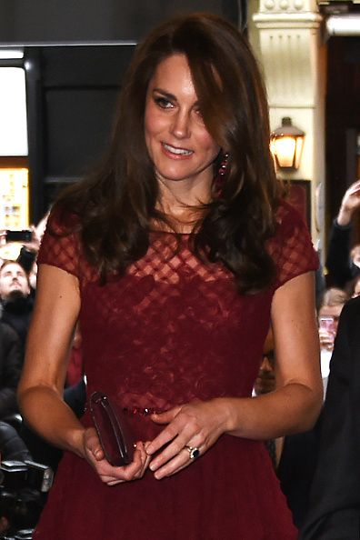 Catherine, Duchess of Cambridge, attends the Opening Night Royal Gala performance of '42nd Street' in aid of the East Anglia Children's Hospice at the Theatre Royal Drury Lane on April 4, 2017 in London, England.