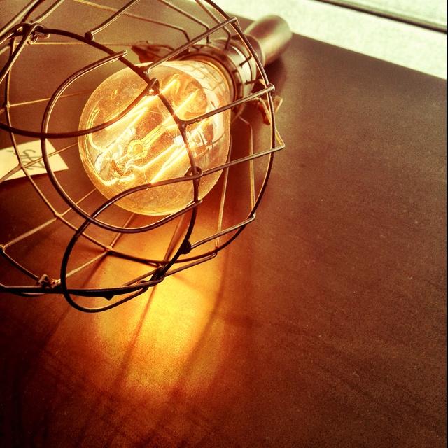 Vintage light.