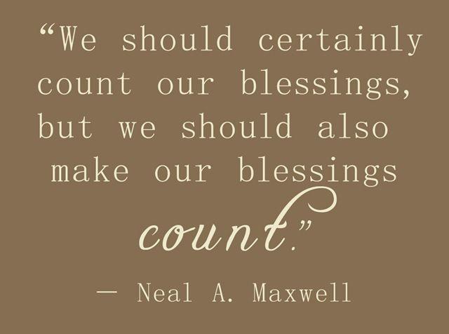 Blessings.......