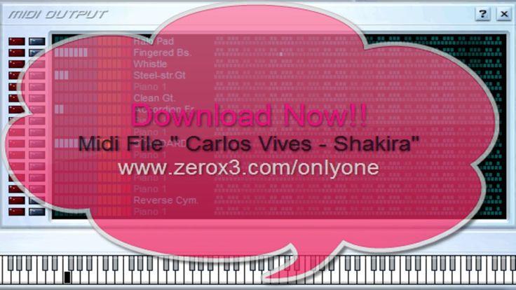 La Bicicleta - Carlos Vives Ft  Shakira - Midi File (OnlyOne)