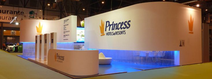 Princess Hotels & Resorts award for best design stand in company category Fitur 2013