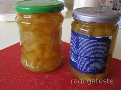 radugateste: Dulceata de ananas cu lamaie si ghimbir