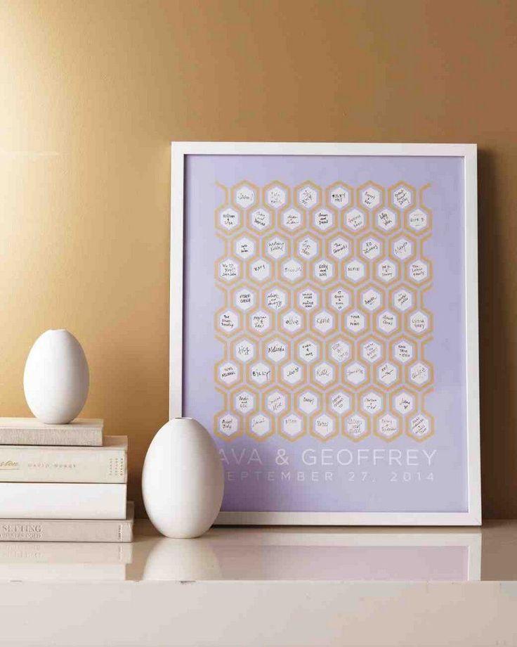 livre d'or mariage original - nid d'abeilles dans lequel les invités écrivent un vœu touchant