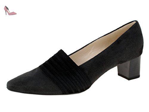 Peter Kaiser KONIA, chaussures compensées femme, (schwarz Lack 010 010), 42