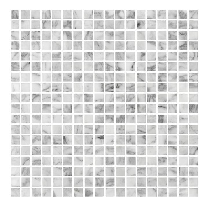 Äntligen den är tillbaka! Marmormosaik Bianco Carrara 15x15| Stonefactory.se #marmor #mosaik #inredning #inredningstips