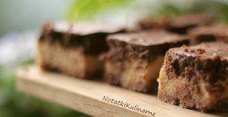 Zakręcony cheesecake dyniowo czekoladowy