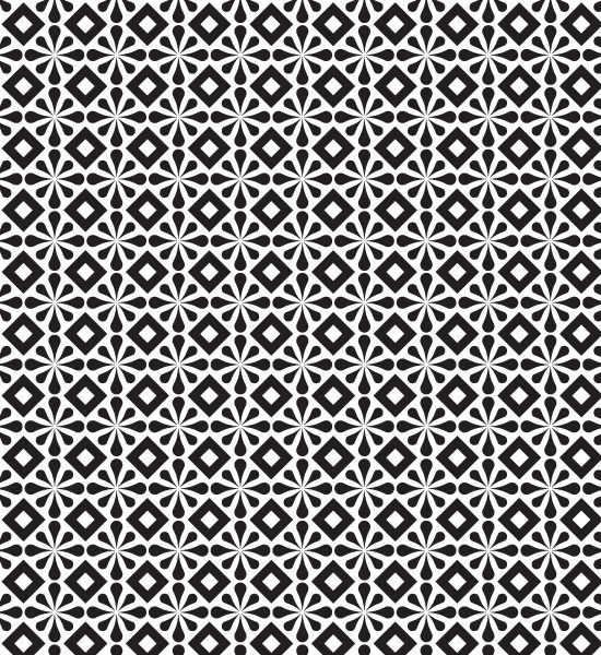 Simple Geometric Patterns | Simple Free Abstract Black And White PatternVector Patterns |