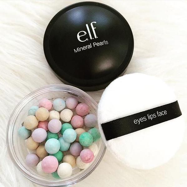 Skin balancing Mineral Pearls (just $8!) #elfcosmetics #playbeautifully #strobing