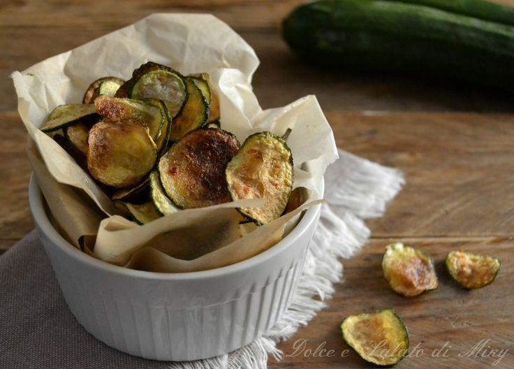 ricetta chips di zucchine| Dolce e Salato di Miky