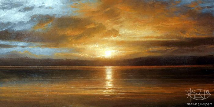 Brahinsсkiy Arthur - 'On the Balaton Lake'
