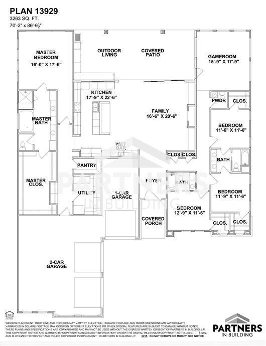 25 best partners in building images on pinterest house floor plans plan 13929 is a 3263 sqe ft 4 bedroom plan built and designed by partners in building custom home builder in texas malvernweather Gallery