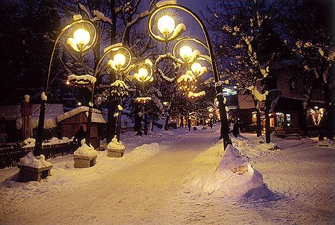 Zakopane in Winter, exactly as I saw it for the first time