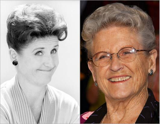 The Brady Bunch Then and Now | playing alice nelson the housekeeper of the brady family ann