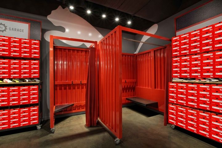 Puma leed platinum store by colkittco syracuse new york for Michaels crafts syracuse ny