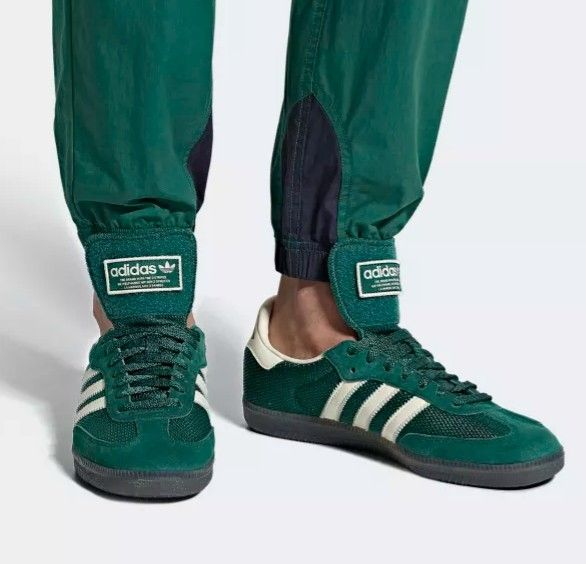 Adidas Samba LT in collegiate green and white | Addidas