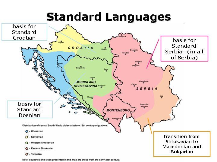 serbo croatian map