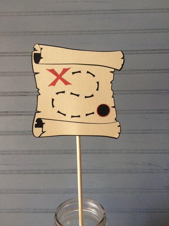 Pirate Centerpiece por NoOneLikeYou en Etsy