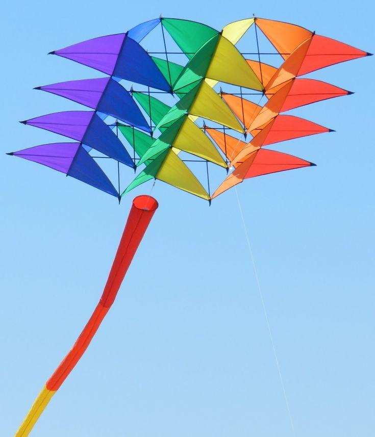 144 Best Box Kites Images On Pinterest