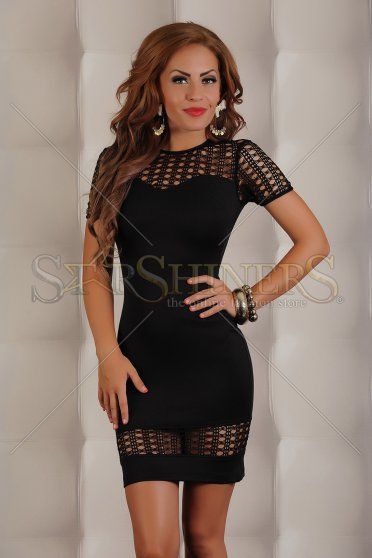 Rochie LaDonna Fascinating Black