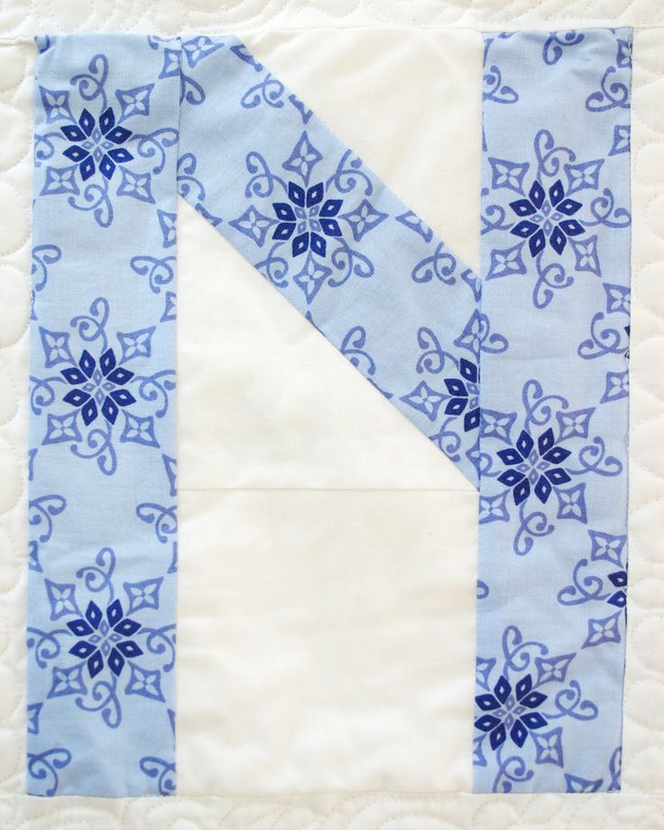 Letter N with @Kate Spain @ModaFabrics