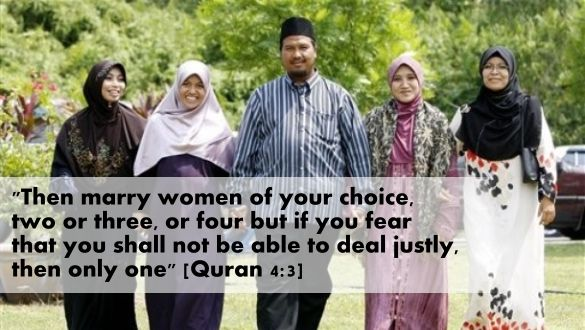then marry women of your choice, two or three, or four but if you fear that you shall not be able to deal justly, then only one