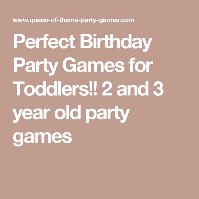 The 25 Best Toddler Birthday Party Games Ideas On Pinterest