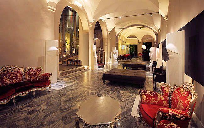 Borghese Palace Art Hotel. Florence, Italy