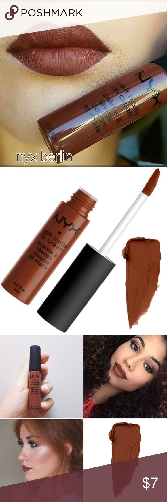 NYX *Berlin* SOFT MATTE LIP CREAM! NEW NYX Cosmetics Makeup