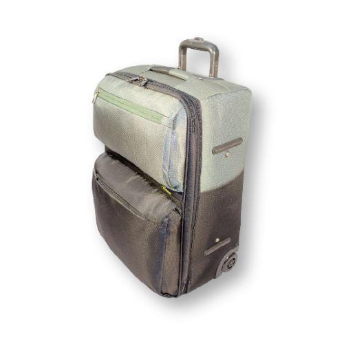 Облегчённый чемодан Asiapard 9023 (24 дюйма) на двух колесах с увеличивающимся объемом, навесным кодовым замком. #travel #luggage #Laptop