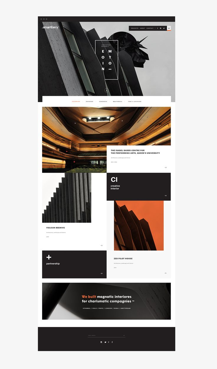 Smartbery Webpage on Behance