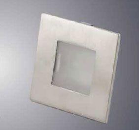 Square Flushed Down Light   Model:L7.02.101   58mm, 12V Price:Rs425