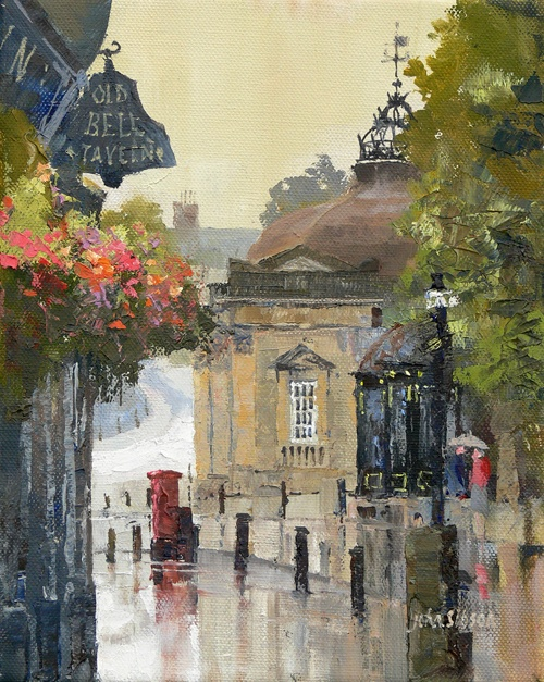 John Sibson. Wet Day Pump Room Harrogate