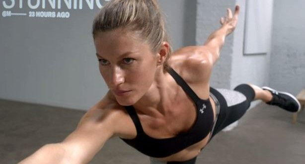 GISELE BUNDCHEN IN A AWESOME AVATAR AD BY UNDER ARMOUR | PistonChamp