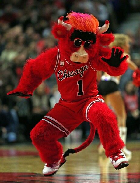Benny the Bull Chicago Bulls mascot