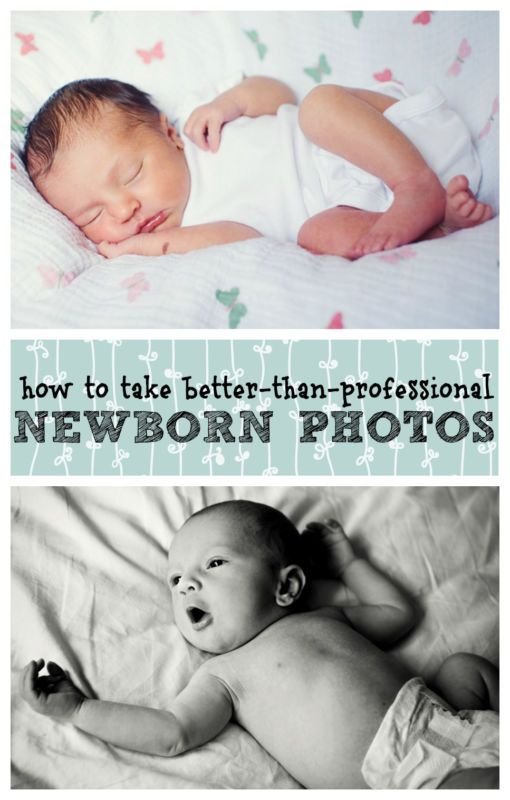 How to Take Better-Than-Professional Newborn Photos at Home - These simple tips will help you take gorgeous DIY natural light photos of your baby!