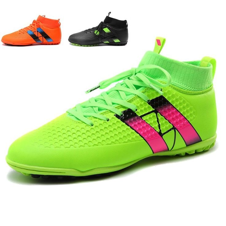 41.03$  Watch now - http://aliuzg.shopchina.info/go.php?t=32720318391 - Men Football Shoes Training Athletic Soccer Boots Kids Children FG Football Boots Soccer Cleats Sneakers zapatos de futbol 41.03$ #bestbuy