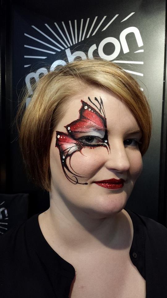 Mark Reid half butterfly eye