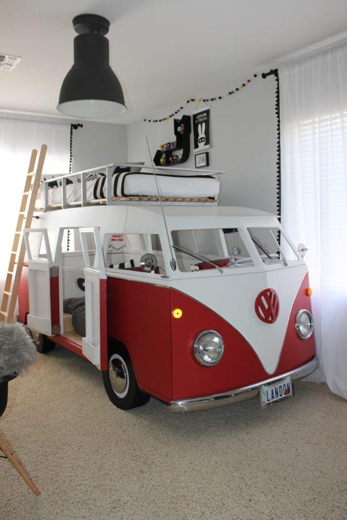 Project kindergarten – Big Boy room with individual camper bunk bed – Project kindergarten