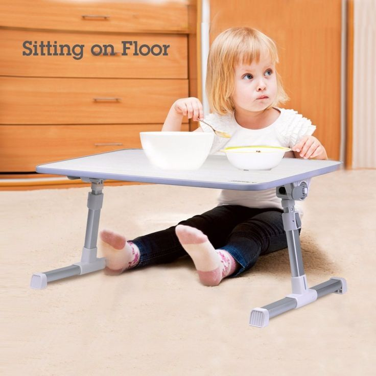 US$42.63  Feb only. Quality Adjustable Laptop Table, Portable Standing Bed Desk, Foldable Sofa Breakfast Tray, Notebook Stand Reading Holder for Kid ~*~  #ChildrenFurniture