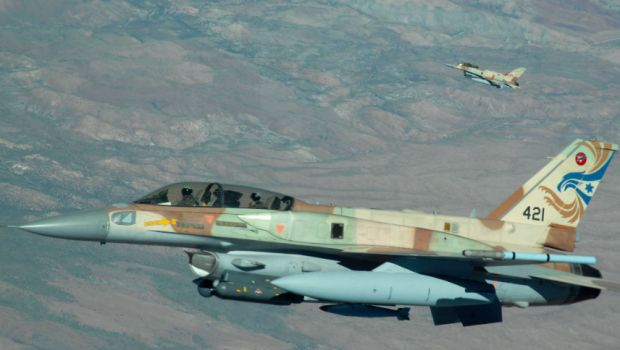 Israeli F-16 2 seat Falcons.