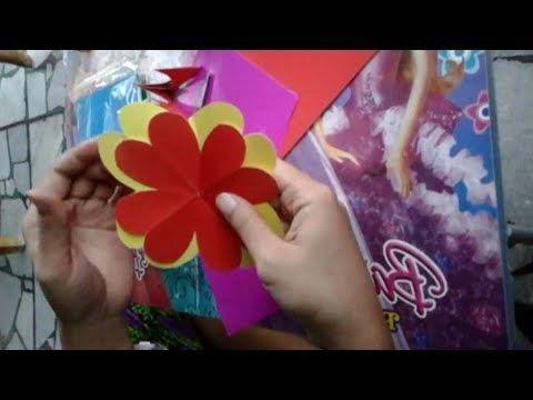 Cara Membuat Hiasan Origami Untuk Dinding - YouTube