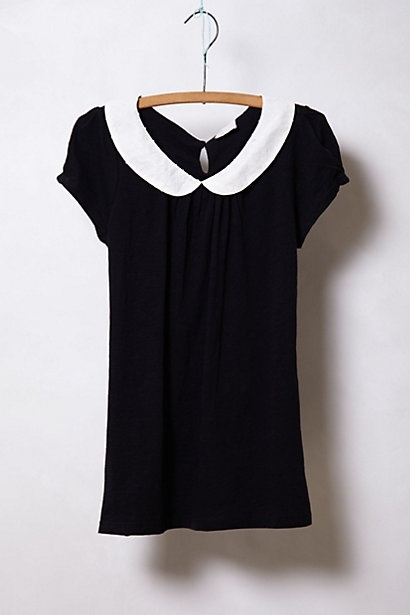 Novelty Collar Tee #anthropologie