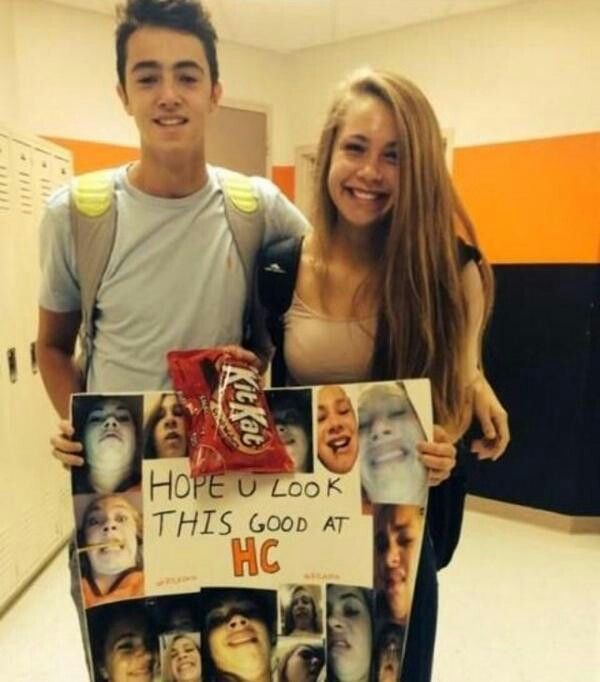 Cute way to be asked to homecoming! :)