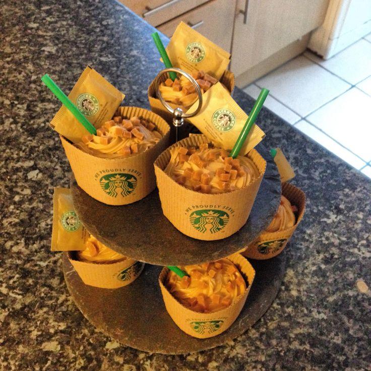 Starbucks coffee cupcakes